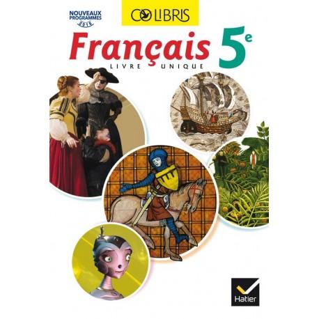 Colibris Francais 5eme Manuel 2016 Hatier