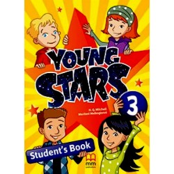 Young Stars 3 - SB + WB + The Shepherd Boy and The Wolf - PACK - British Edition - MM Publications