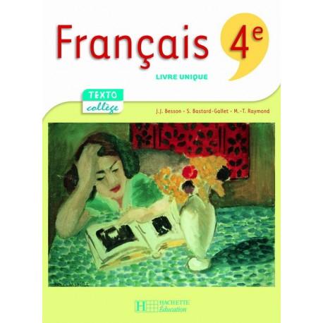Textocollege Francais 4eme Manuel 2007 Hachette