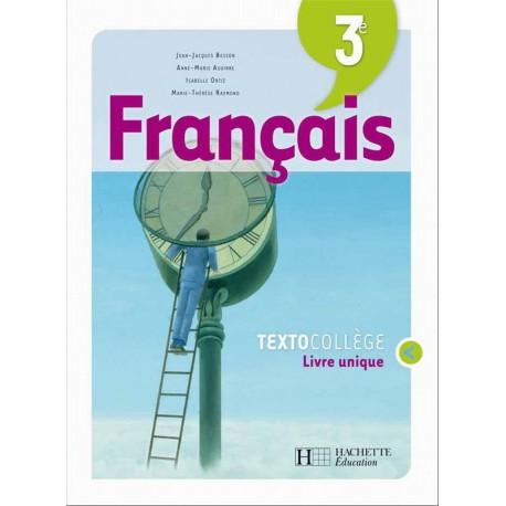 Textocollege Francais 3eme Manuel 2008 Hachette