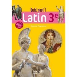 Quid Novi ? 3ème - Latin - Manuel - 2012 - Hachette