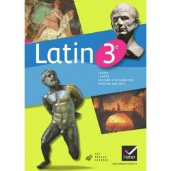 Latin 3ème - Manuel - 2012 - Hatier