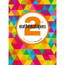 Mathematiques 2de - Sous la Direction d'Eric Barbazo - Manuel - 2014 - Hachette