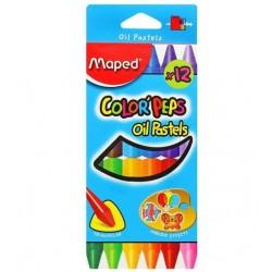 Boîte de 12 Pastels à l'huile Maped