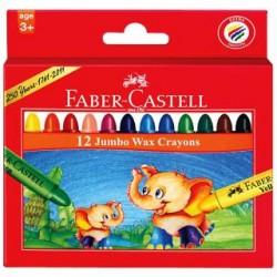 Boîte de 12 Crayons à Cire Faber Castell