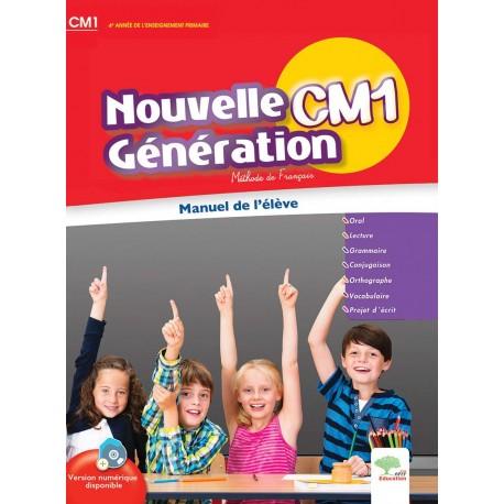 Nouvelle Generation Cm1 Francais Livre Unique Apef