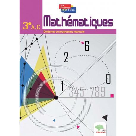 Mathematiques 3e Annee College Apef College