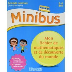 Minibus - Mon fichier de mathématiques et de découverte du monde GS - 2016 - Hachette