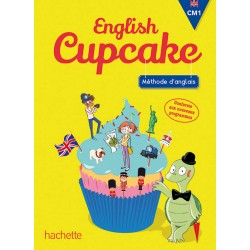 English Cupcake CM1 - Manuel - 2016 - Hachette