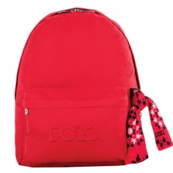 Sac à dos Polo Backpack - 1 Poche - Rouge