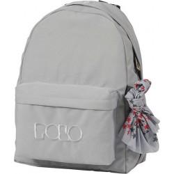 Sac à dos Polo Backpack - 1 Poche - Gris Clair