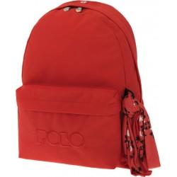 Sac à dos Polo Backpack - 1 Poche - Orange Foncé