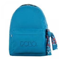 Sac à dos Polo Backpack - 1 Poche - Bleu Océan