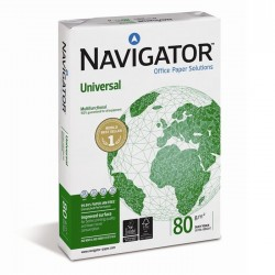 Ramette de 500 Feuilles Blanches A4 - Navigator - 80 G