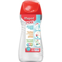 Gourde Picnick Maped Rouge 430 ml