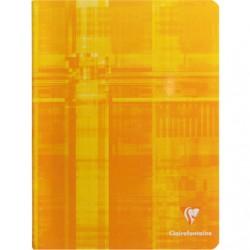 Cahier Clairefontaine 120 pages - 17x22 - Piqué- 90g - Grands carreaux