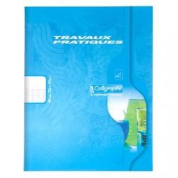 Cahier TP Calligraphe 48 pages - 17*22 - 70 / 90 g - Piqué - Grands Carreaux