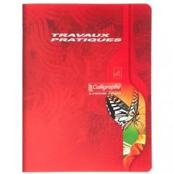 Cahier TP Calligraphe 144 pages - A4 - 70 / 90 g - Piqué - Grands Carreaux