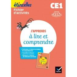 Etincelles Français CE1 - J'apprends à lire et comprendre - Fichier d'activités - 2019 - Hatier